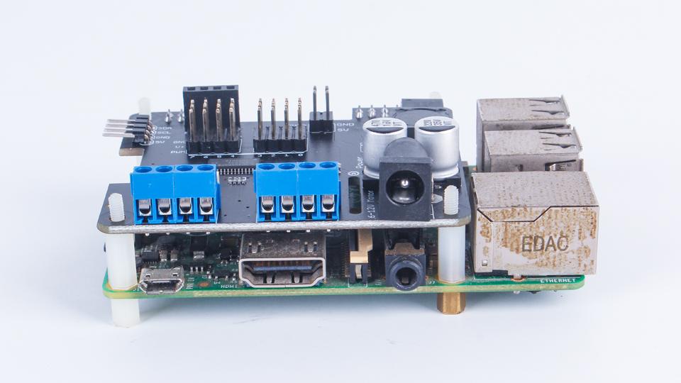 RaspberryPi HAT树莓派电机驱动板(更新中)